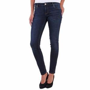 Kut from the Kloth Mia Toothpick Skinny Dark Jeans